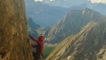 Tempi Moderni on Marmolada, a young adventure in the Dolomites