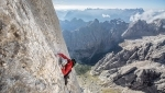 Hansjörg Auer: Marmolada, Piz Ciavazes and Sass dla Crusc free solo climb in a single day