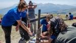 Amatrice: sul Monte Gorzano una targa a ricordo delle vittime del terremoto 2016