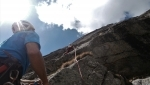 Val di Mello, new rock climb on Qualido East Face