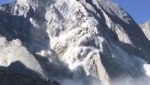 Pizzo Cengalo massive rockfall video