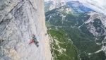 Hakuna Matata, Lisi Steurer and Hannes Pfeifhofer climb new route up Taè in Dolomites