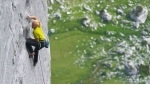 Beat Kammerlander climbing Rätikon Kampfzone