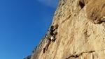 Leoni in gabbia, nuova via d'arrampicata sul Monte Casale (Valle del Sarca)