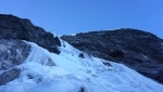 Gnadenlos, difficult and dangerous new Ortler ice climb