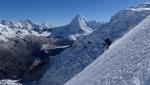Curvas Peligrosas, steep skiing in Peru