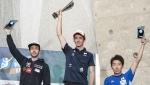 Romain Desgranges and Janja Garnbret win Climbing World Cup 2017