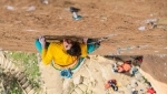 Climbing video: Nina Caprez on To Bolt Or Not To Be at Smith Rock