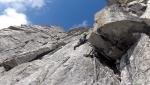 Presanella, tre nuove vie d'arrampicata per Francesco Salvaterra & Co