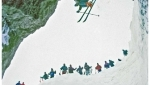 Sulla tracce di Coomba, il mito dello sci ripido a Feltre