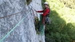 New rock climb at Padaro, Arco, in memory of Fabio Comini