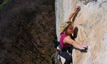 Outsider, 8a+ for Angelika Rainer at Cornalba