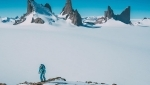 New Antarctic climbs by strong American expedition