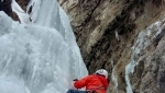 Ice climbing Dolomites: the unknown ice climb up Torre Vitty
