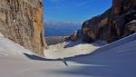 Scialpinismo nelle Dolomiti di Brenta