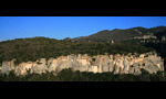Climbing meeting at Buoux Face Ouest