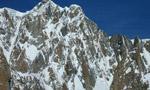 Voie Anderson, Mont Maudit, Monte Bianco, discesa con sci e snowboard