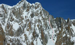 Voie Anderson, Mont Maudit, Mont Blanc snowboard and ski descent
