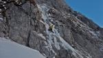Ghiaccio e misto in Alpago: Ritorno al Futuro ripetuta sulla Cimon di Palantina
