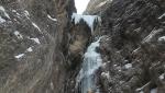 Nuova cascata di ghiaccio in Val Badia, Dolomiti