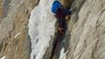 Ice climbed at Jackson Hole Skiing Paradise