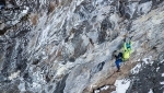 South Tyrol ice climbing, Simon Gietl and Vittorio Messini establish MFG