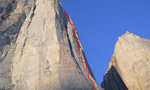 Arctic Monkys, un team britannico sale una nuova big wall sul Sail Peaks, Isola di Baffin