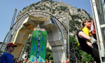 Rock Junior, the first day of the European climbing festival