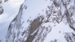 Aiguille du Dru, La ceinture des Drus descent clip