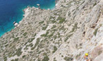 Wild Country, new route on Telendos, Kalymnos