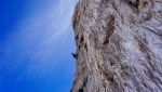 Dolomites La Strada on Cima Grande di Lavaredo repeated by Simon Gietl, Thomas Huber, Rainer Treppte