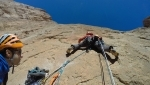 Taghia Gorge, new multi-pitch rock climb in Morocco by Iker Pou, Eneko Pou