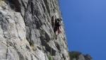 L'amico ritrovato, nuova via d'arrampicata alla Corna Rossa del Monte Spedone
