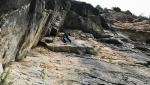 Volevo nascere rock star, nuova via d'arrampicata nella Gola del Limarò di Castagna e Salvaterra