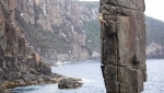 La Tasmania e l'arrampicata di Charlotte Durif e Josh Larson