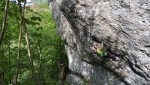 Angela Eiter makes short work of Frankenjura 8c