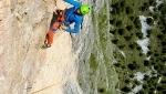 Via Mara, sul Monte Steviola in Vallunga una nuova via d'arrampicata