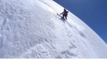 Legendary Aiguille Verte Nant Blanc face skied by Paul Bonhomme and Vivian Bruchez