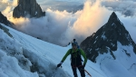 Innominata Ridge Speed: Denis Trento and Robert Antonioli race up Mont Blanc