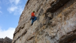 Cima Ovest di Lavaredo, new rock climb in Dolomites by Hannes Pfeifhofer and Dietmar Niederbrunner