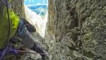 Antelao, Dolomiti: Enrico Paganin apre in solitaria la Via Mamabi