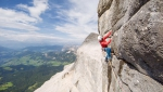 Stigmata added to Heiligkreuzkofel in the Dolomites by Simon Gietl and Andrea Oberbacher