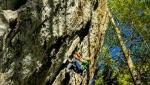 Gara di arrampicata su roccia a Valgrisenche: Moreno Dalle Mole tra passato e presente dell'arrampicata in Valle
