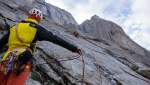Mathieu Maynadier, lucky escape after rockfall in Tagas Valley, Karakorum