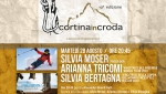 Silvia Moser, Arianna Tricomi e Silvia Bertagna martedì 28 a Cortina InCroda
