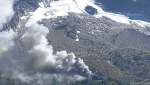 Mont Blanc: fire ravages Grands Montets cable car