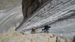 Chareze Ri North in India's Rangtik valley climbed by Italians