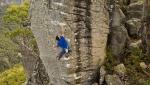 Grampians bouldering: Niccolò Ceria climbing in Australia
