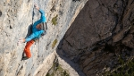 Pale di San Martino Dolomites: Manolo and Narci Simion establish Bebe Forever up Tacca Bianca