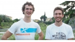 Adam Ondra and Stefano Ghisolfi at Arco for climbing's Champions Challenge